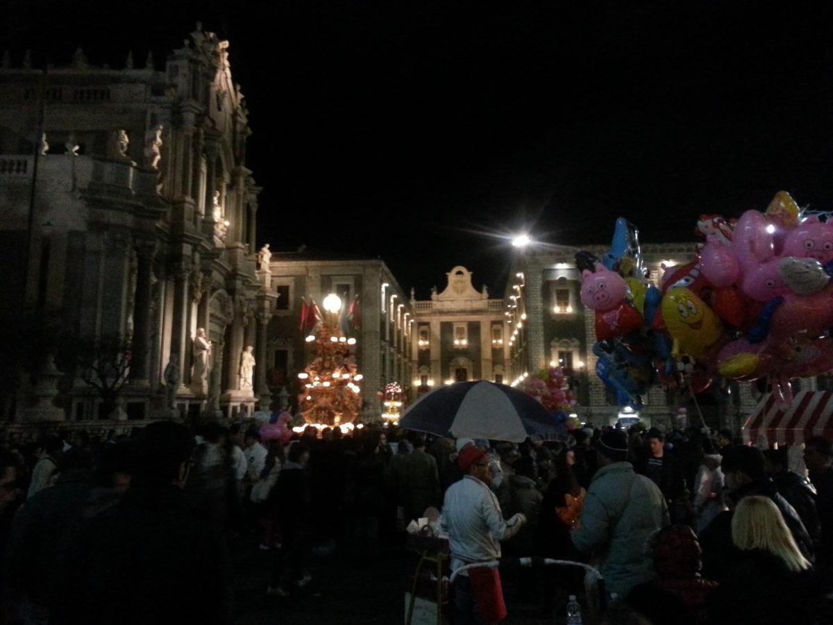 piazza duomo catania - notte egmont
